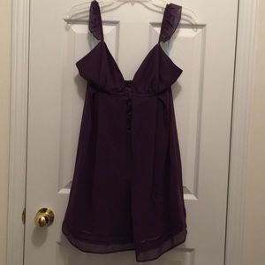 Marciano Purple baby doll dress